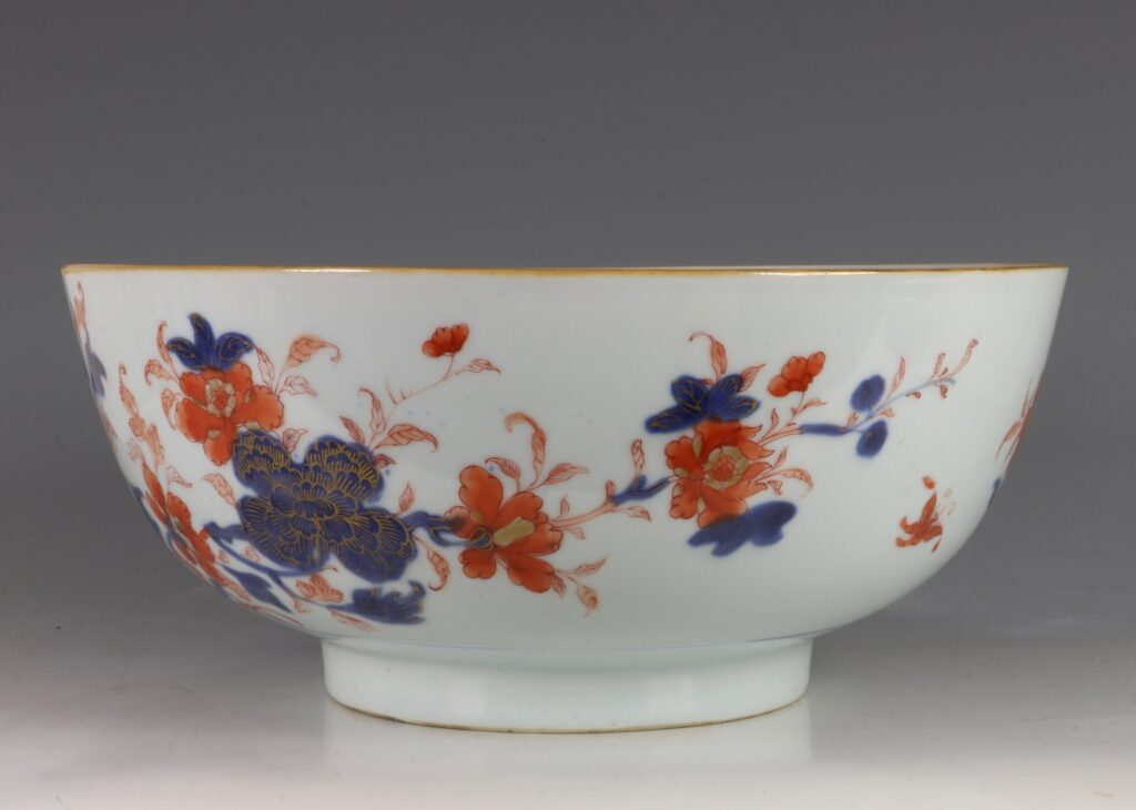 A Chinese Imari Punchbowl Qianlong C1760 4