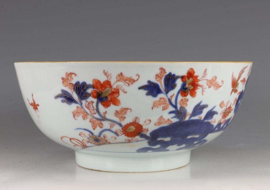 A Chinese Imari Punchbowl Qianlong C1760 6