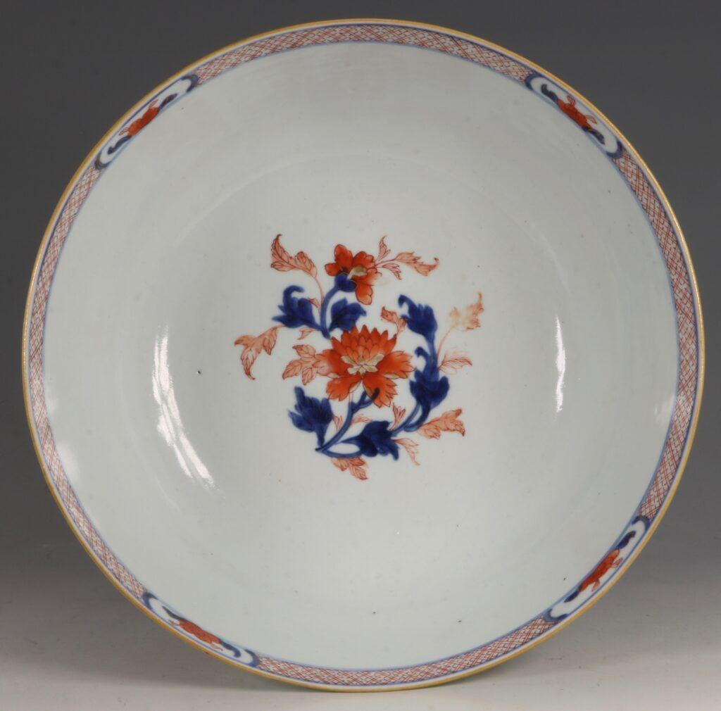 A Chinese Imari Punchbowl Qianlong C1760 7