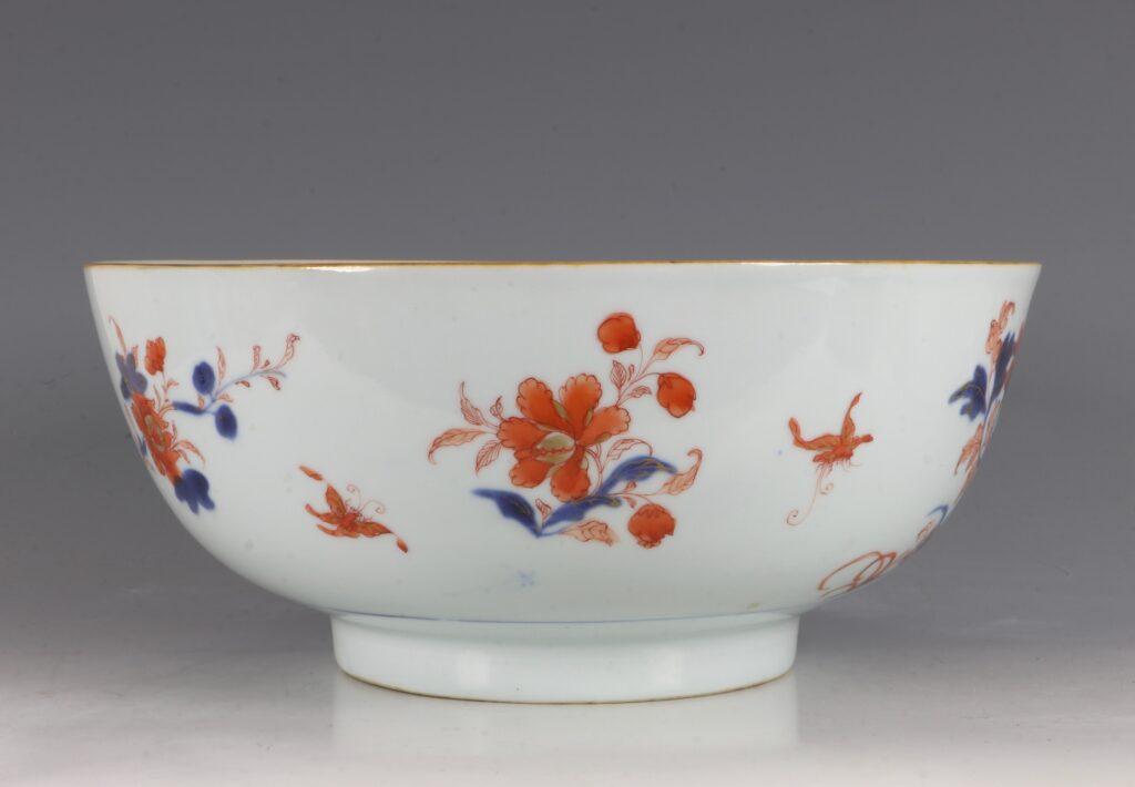 A Chinese Imari Punchbowl Qianlong C1760 5