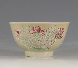A London Decorated Chinese Tea Bowl C1690-1710