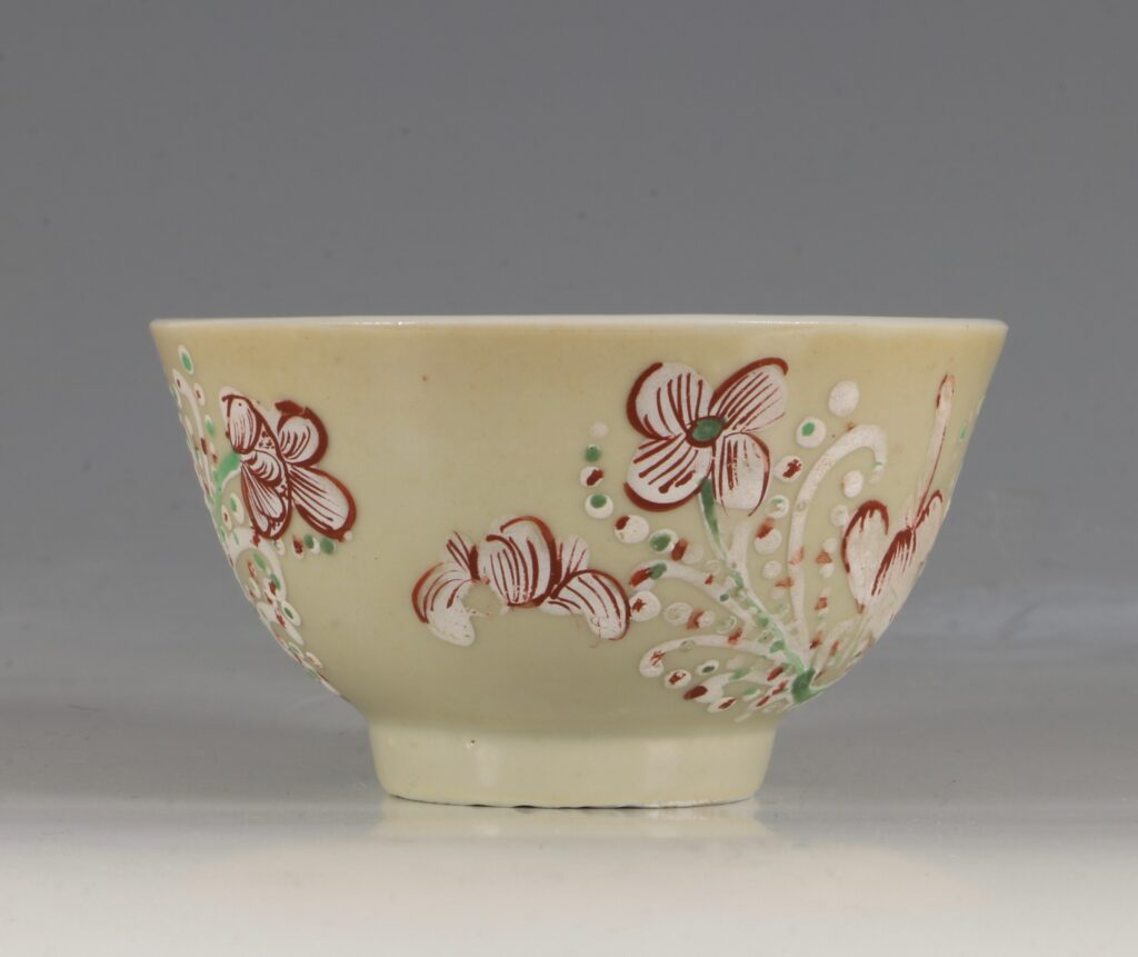 A London Decorated Chinese Tea Bowl C1690-1710 1