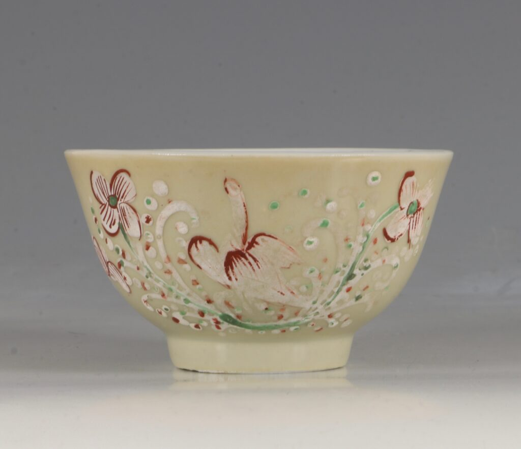 A London Decorated Chinese Tea Bowl C1690-1710 2