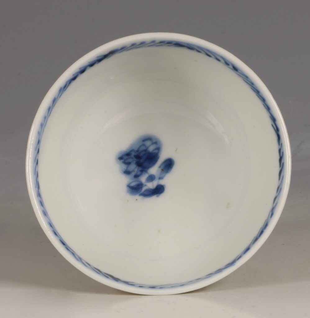 A London Decorated Chinese Tea Bowl C1690-1710 4