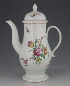 A Pennington Liverpool Coffee Pot C1780