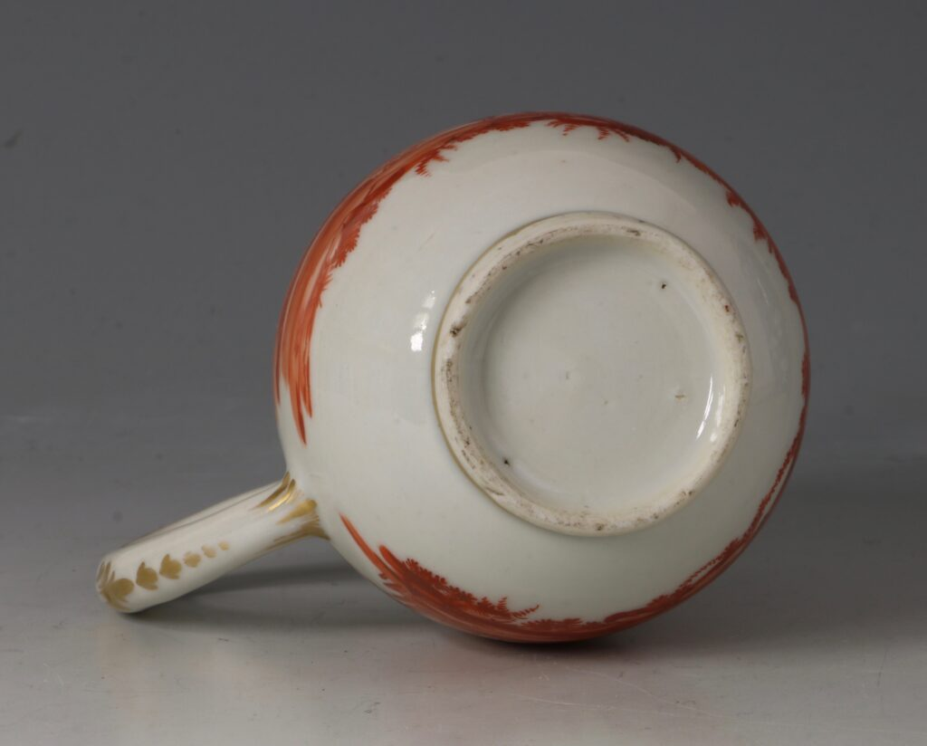 A Rare London Decorated Chinese Cream Jug C1758-63 Probably James Giles 6