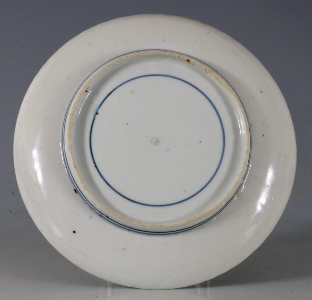 An Arita Blue and White Dish 17thC 2