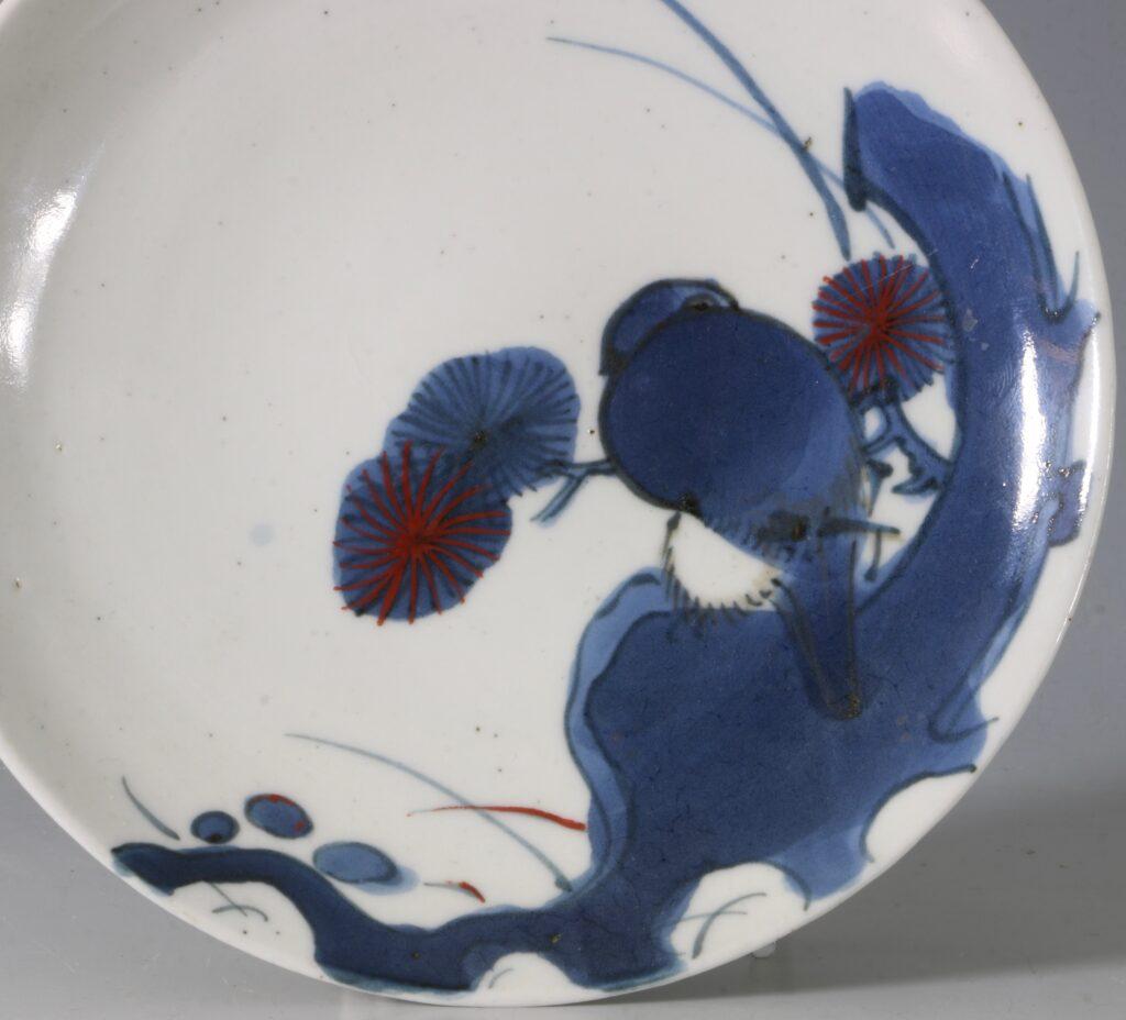 An Arita Blue and White Dish 17thC 1