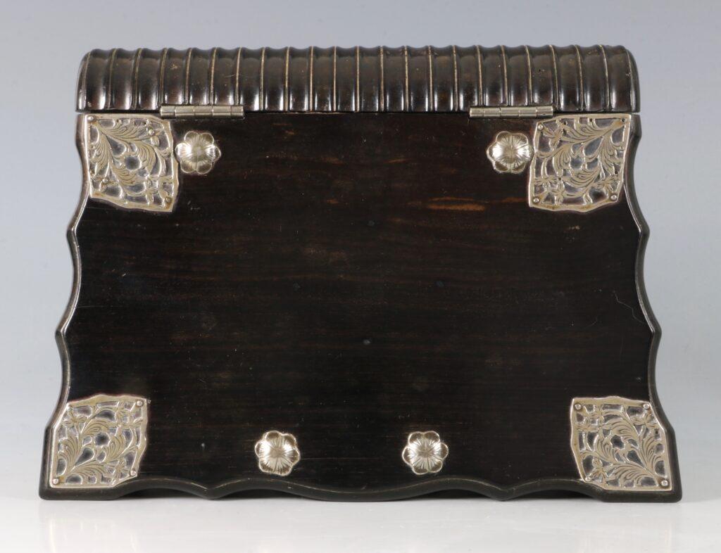 Dutch Colonial Bible Box Sri Lanka 18thC 4