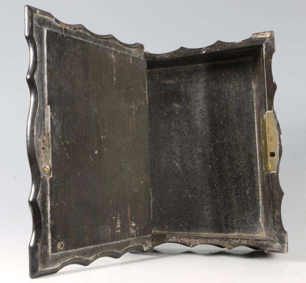 Dutch Colonial Bible Box Sri Lanka 18thC 5