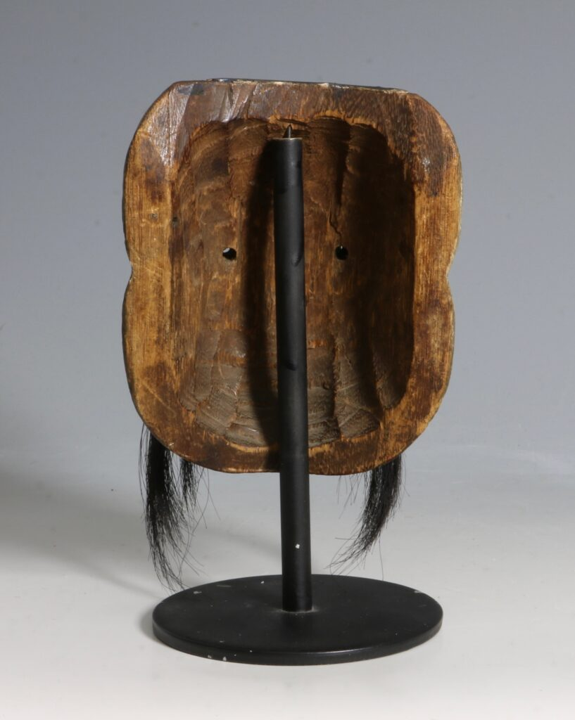 Japanese Lacquered Wood Small 'Noh' Mask 19thC 1
