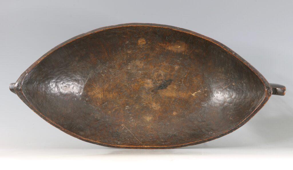 A Large Tsonga Food Bowl and Ladle 19thC 2