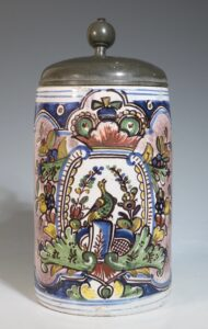 A German Faience Stein Berlin C1750-60