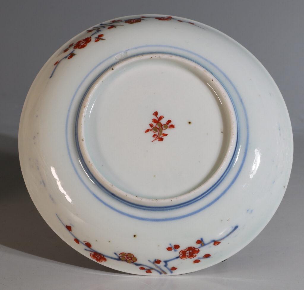 Japanese Arita Tea Bowl and Saucer E18thC 3