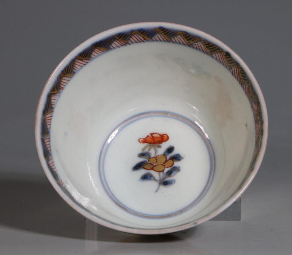 Japanese Arita Tea Bowl and Saucer E18thC 9