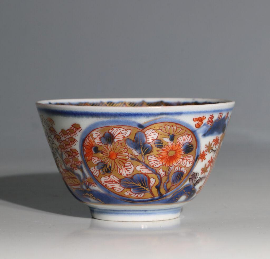 Japanese Arita Tea Bowl and Saucer E18thC 6