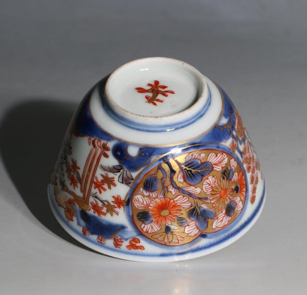 Japanese Arita Tea Bowl and Saucer E18thC 8