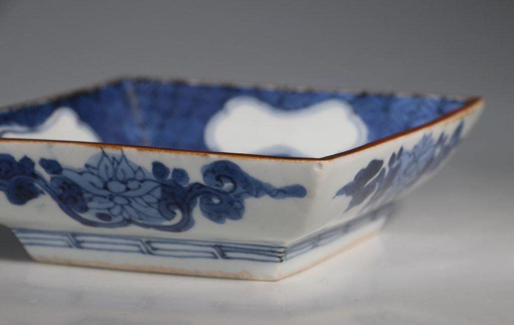 A Japanese Arita Square Dish 17thC 3