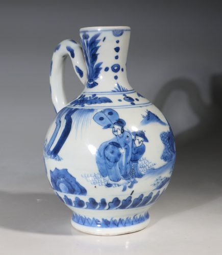A Transitional Blue and White Jug C1640's