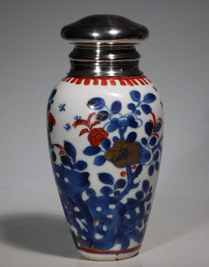 A Silver Mounted Kangxi Imari Vase 1