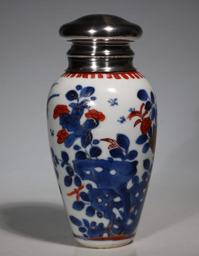 A Silver Mounted Kangxi Imari Vase 2