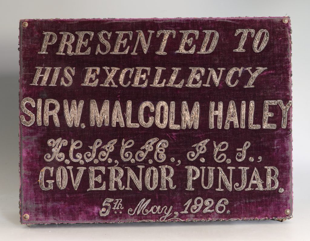 An Indian Presentation Box 1926