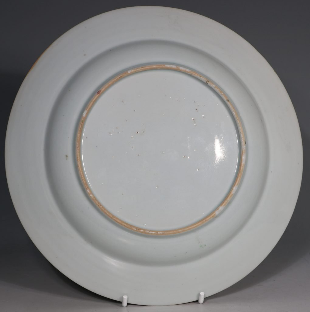 A Pair of Famille Rose Plates C1730-40 4