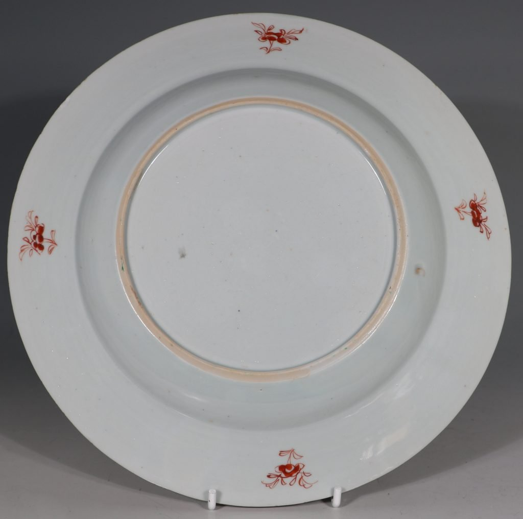 A Pair of Famille Rose Plates C1730/40 6