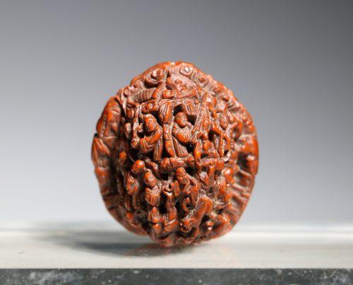 A Finely Carved Walnut 19thC