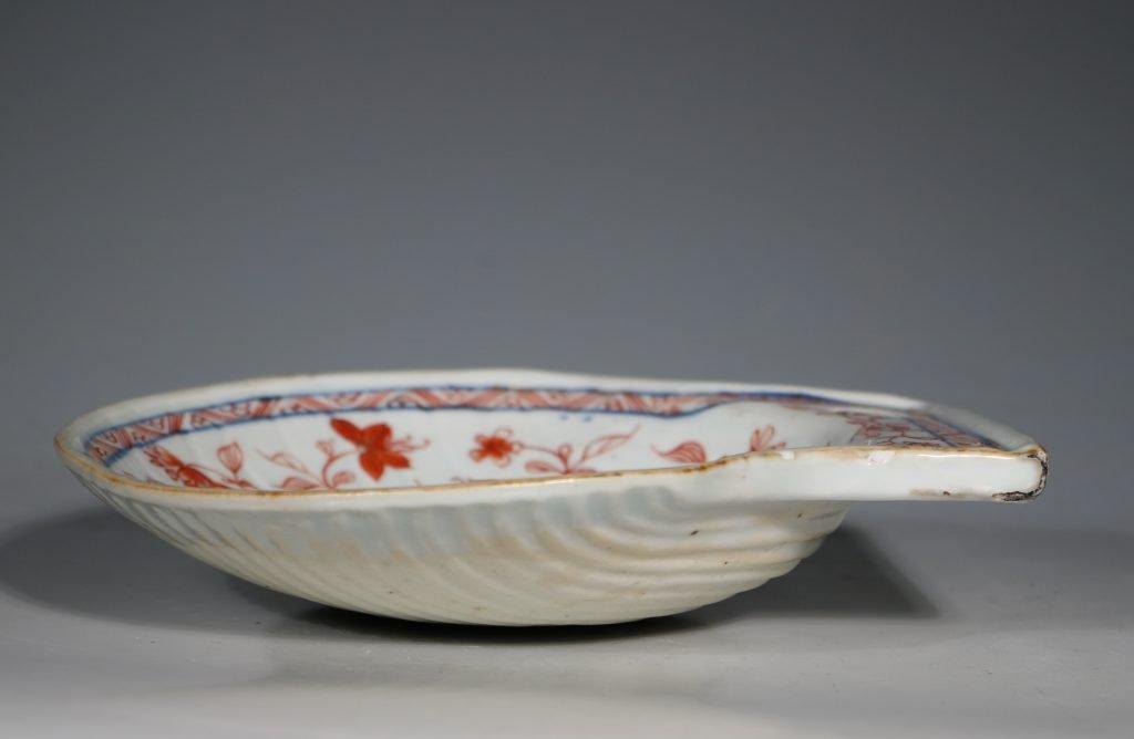A Chinese Imari Shell Shaped Dish Kangxi C1720 3