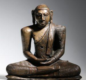 A Seated Buddha Sri Lanka 18thC