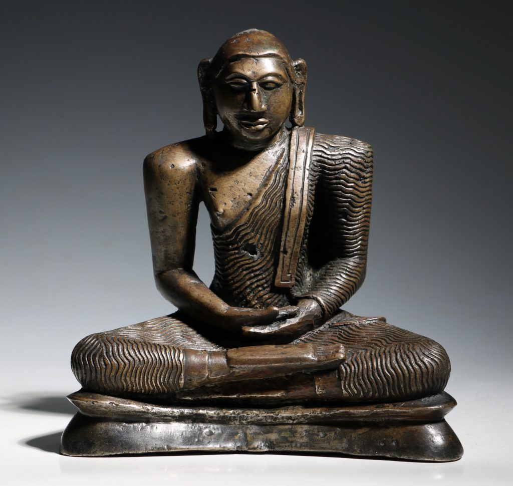 A Seated Buddha Sri Lanka 18thC 1