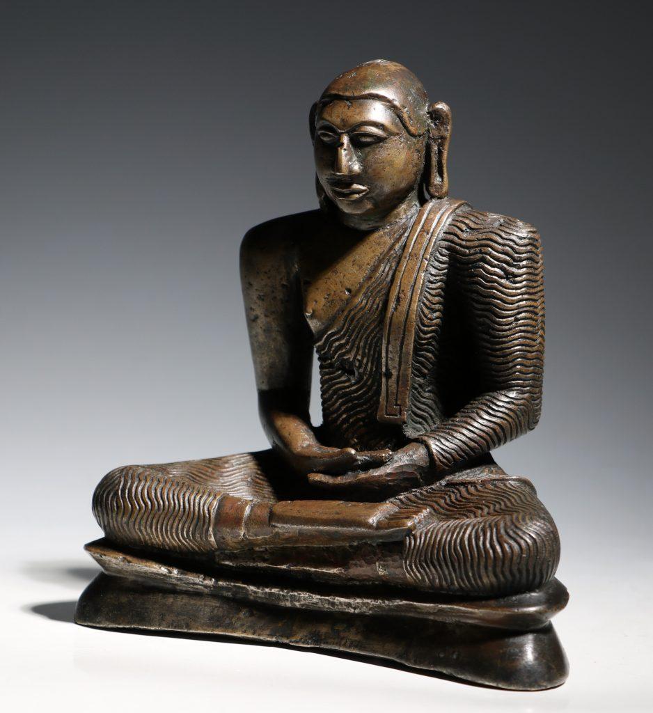 A Seated Buddha Sri Lanka 18thC 2