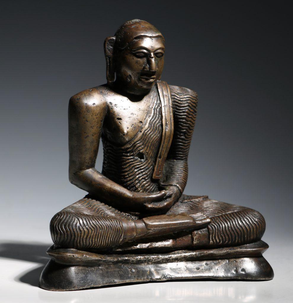 A Seated Buddha Sri Lanka 18thC 5