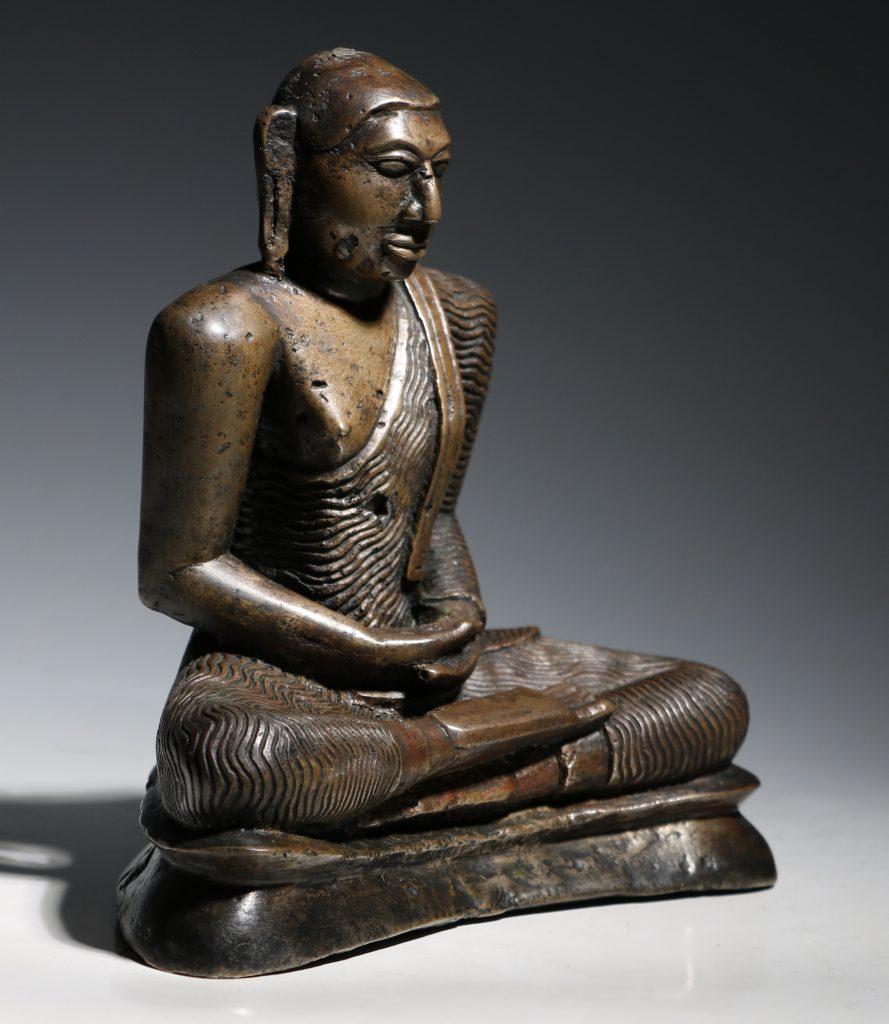 A Seated Buddha Sri Lanka 18thC 6