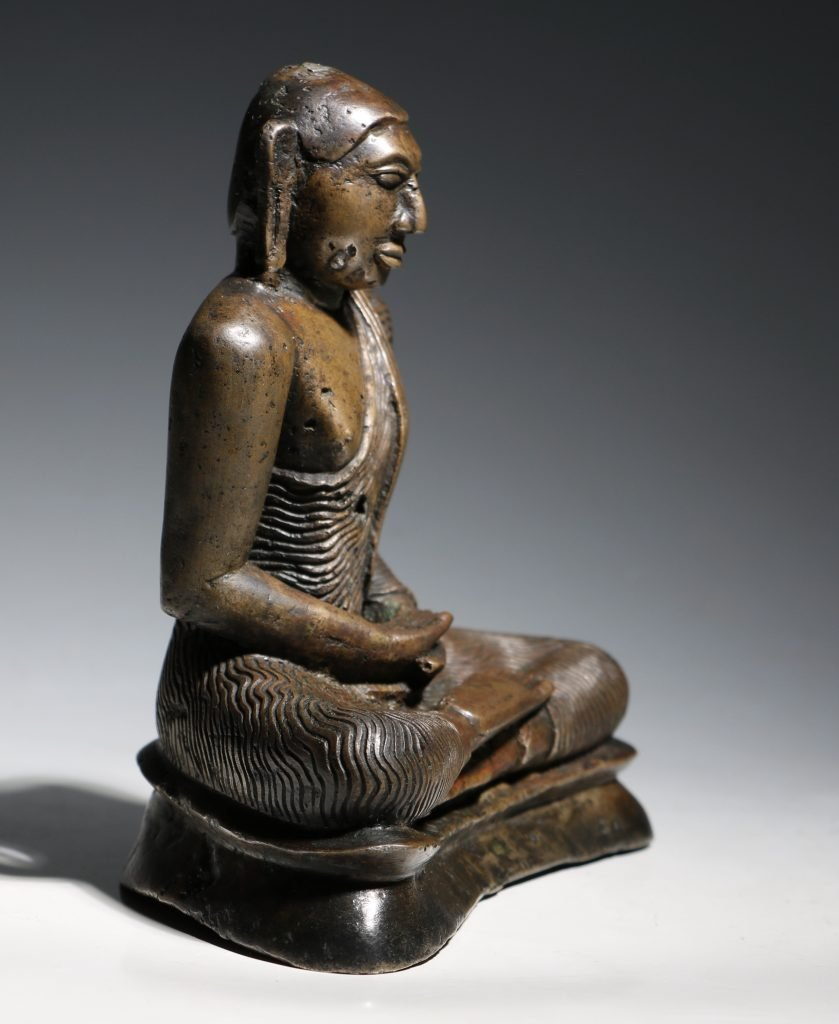 A Seated Buddha Sri Lanka 18thC 7