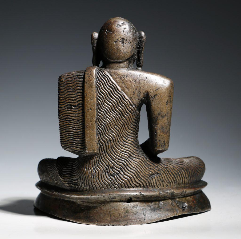 A Seated Buddha Sri Lanka 18thC 9