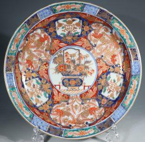 A Fine Japanese Imari Dish L19thC