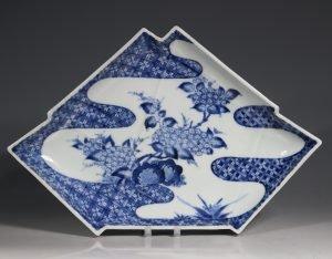 An Arita Blue and White Dish E18thC