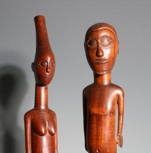 A Pair of Figures Tsonga/Zulu 19/20thC