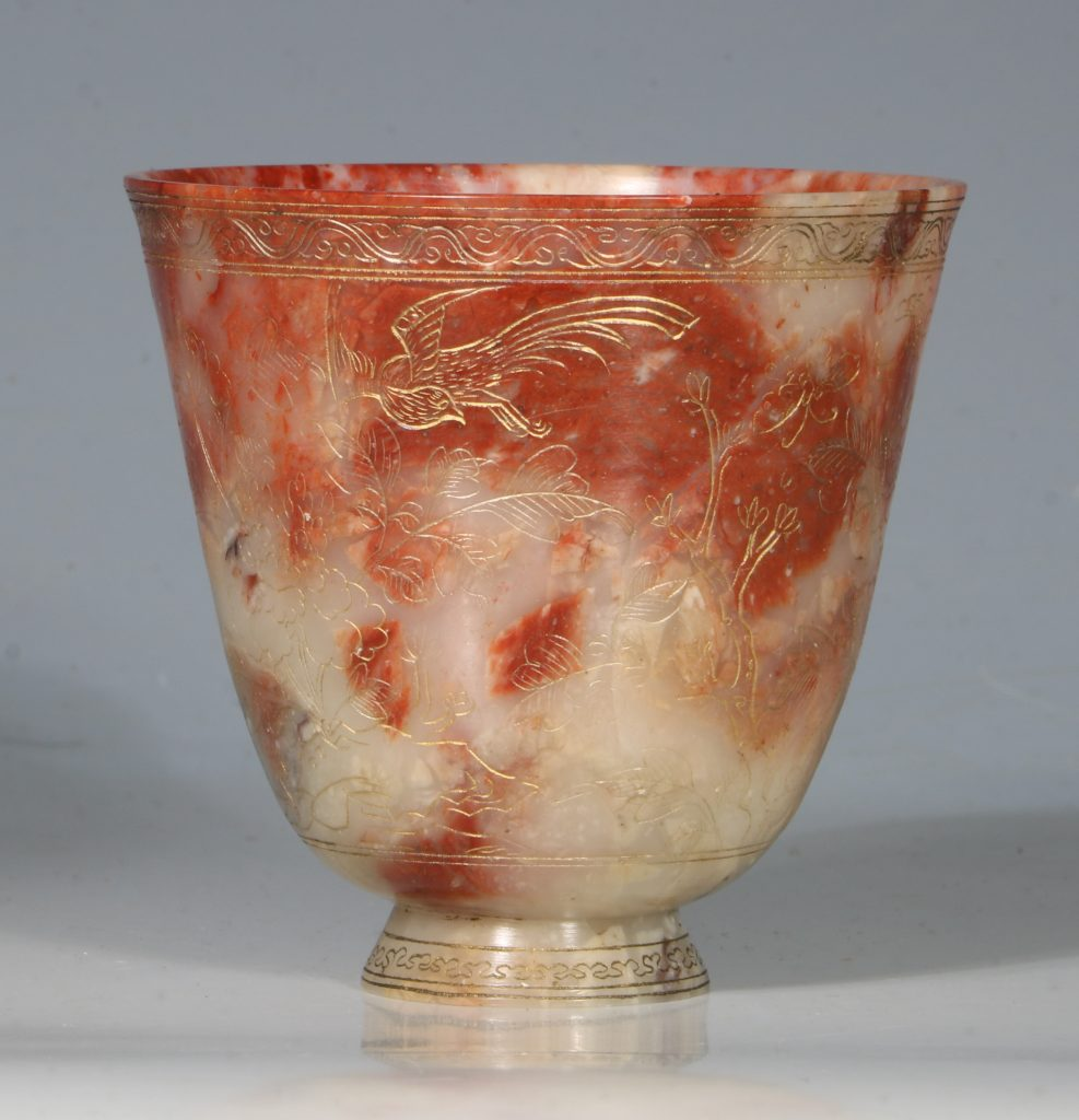 A Chinese Soapstone Beaker 18thC 1