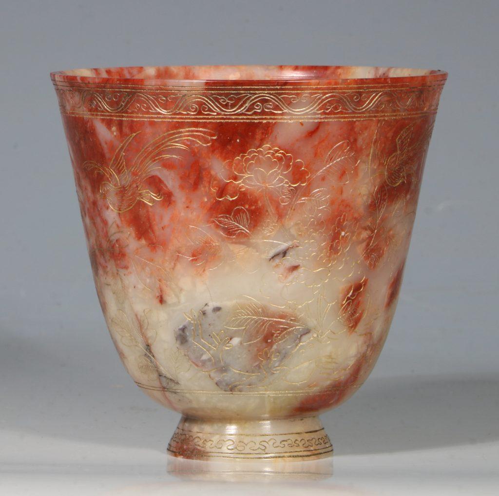 A Chinese Soapstone Beaker 18thC 2